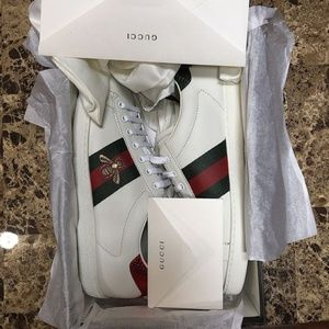 BRAND NEW Gucci Ace Sneaker Bee